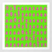 Dip & Come Up - Lime Jui… Art Print