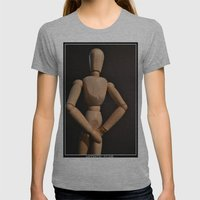 Artistic Nude Womens Fitted Tee Athletic Grey SMALL