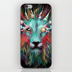 Lion Face 2 iPhone & iPod Skin