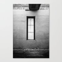 Lonely Window Canvas Print