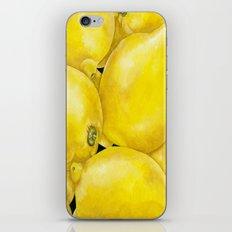 Fresh Lemons iPhone & iPod Skin