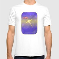 King Of Kings Mens Fitted Tee White SMALL