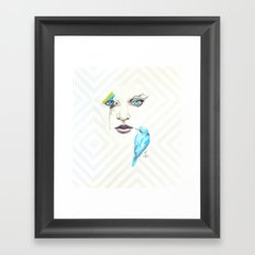 Silent Songs Framed Art Print