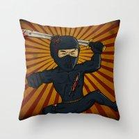DK Ninja Throw Pillow