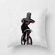 Look No Hands!  Throw Pillow