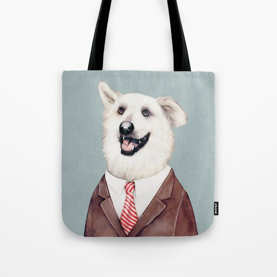 Happy Labrador Retriever  Tote Bag
