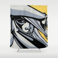 World On Fire Shower Curtain