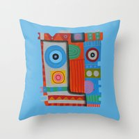 Your self portrait Throw Pillow