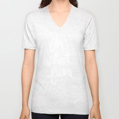 OH WHAT FUN Unisex V-Neck