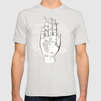 A Handy Map of San Francisco Mens Fitted Tee Silver SMALL