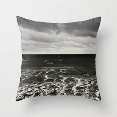 all at sea... Throw Pillow