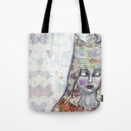 Butterfly Crown By Jane … Tote Bag