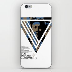 10 Red Indians Commandments iPhone & iPod Skin