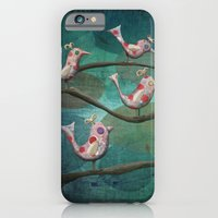 iPhone & iPod Case featuring Birds of a Feather by Fizzyjinks