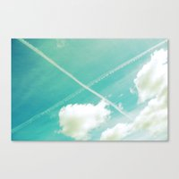 Scottish sky 2594 Canvas Print