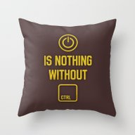 Power Is Nothing Without… Throw Pillow