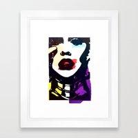 Aguilera 1.0 Framed Art Print