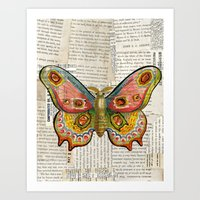 Gorgeous Butterfly Art Print