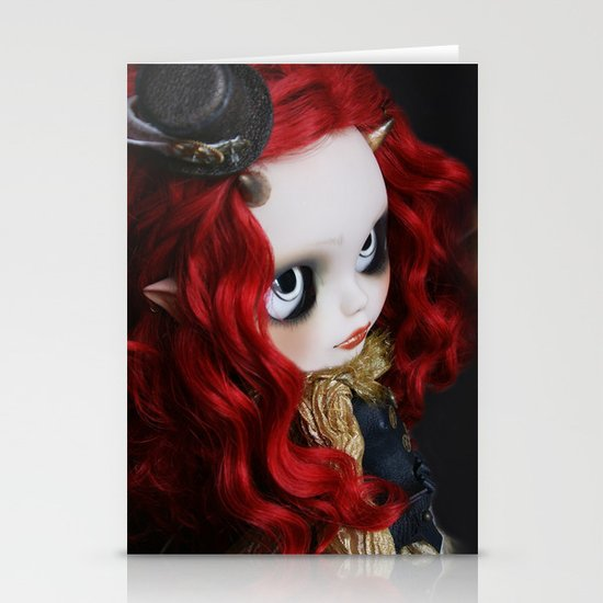STEAMPUNK (Ooak  BLYTHE Doll) Stationery Card