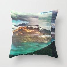 Fractions A32 Throw Pillow