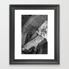 Montreal city Framed Art Print