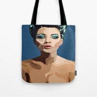 Modern Romantic Tote Bag