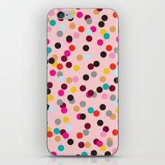 Confetti #3 iPhone & iPod Skin