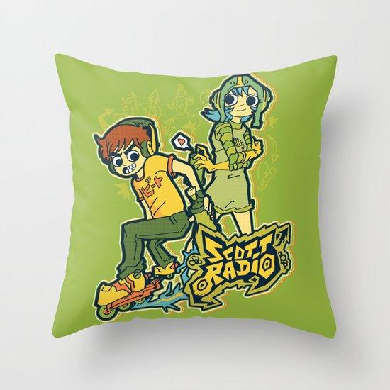 Scott Radio!!! Throw Pillow