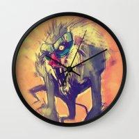 Rafiki´s Rage Wall Clock