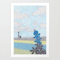 Texas 2 Art Print