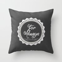 Adoption Is For Always Throw Pillow