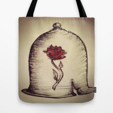The Rose and the Bell Tote Bag