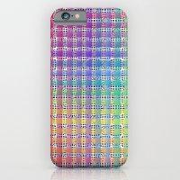 Rainbow Colours iPhone 6 Slim Case