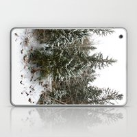 French Alps Trees Laptop & iPad Skin