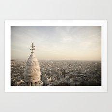 Sacre Coeur - Paris  Art Print