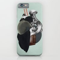 iPhone & iPod Case featuring Silhouette d'une Trompeuse by Jonathan Lichtfeld