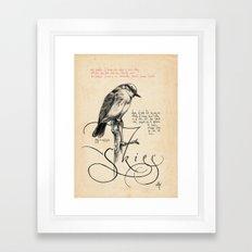 Bird 04 Framed Art Print