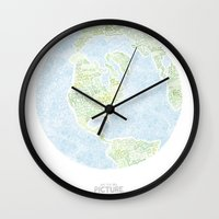 See The Big Picture Wall Clock