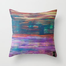 The Colorman. Throw Pillow