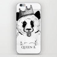 Queen B iPhone & iPod Skin