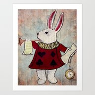 March Hare Art Print