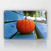 Park pumpkin Laptop & iPad Skin
