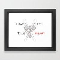 That Tell-Tale Heart Framed Art Print