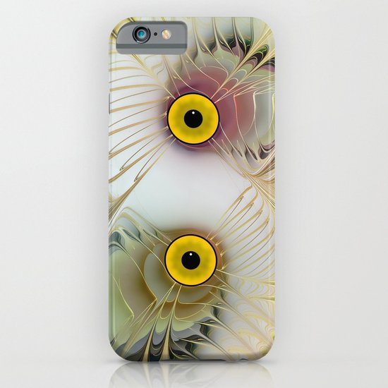 Abstract Owl iPhone & iPod Case