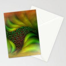 fractal fan -2- Stationery Cards