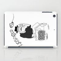 Fear and Loathing in Albuquerque (Breaking Bad) B&W iPad Case