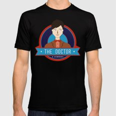 The Doctor & Company Mens Fitted Tee Black SMALL