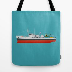 Captain Jacques' Boat Tote Bag