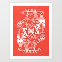 Creativity Is King Art Print