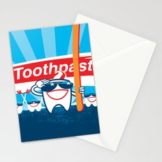 Teeth on Parade Stationery Cards